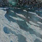 Glacial Moraine Poster
