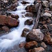 Glacial Stream Poster