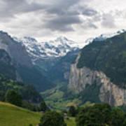Glacial Valley Poster