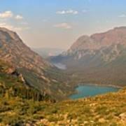 Glacier Chain Of Lakes Poster