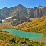 Glacier Cracker Lake Panorama Poster