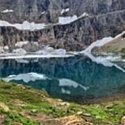 Glacier Icebergs Poster