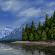 Glacier Naional Park Poster