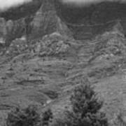 Glacier National Park Montana Vertical Poster