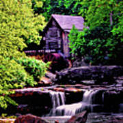Glade Creek Grist Mill 004 Poster