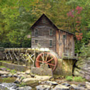 Glade Creek Grist Mill 2 Poster