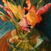 Glads In Glass Poster