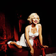 Glance At Hollywood - Marilyn Monroe Poster