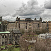 Glasgow Cathedral And Victoria Infirmary Poster