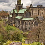 Glasgow Cathedral From The Necropolis Poster