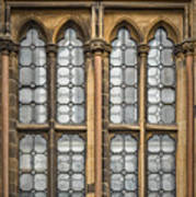 Glasgow Unversity Window Poster