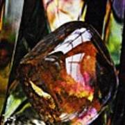 Glass Abstract 315 Poster