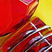 Glass Abstract 649 Poster