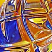 Glass Abstract 768 Poster
