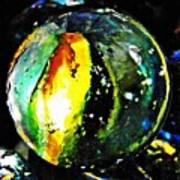 Glass Abstract 83 Poster