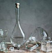 Glass Poster by Nailia Schwarz