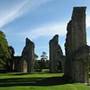 Glastonbury Abbey 3 Poster