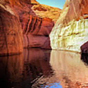 Glen Canyon Reflections Poster