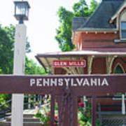 Glen Mills Pennsylvania Poster