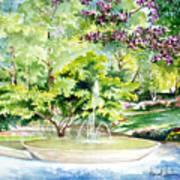 Glencairn Fountain Poster
