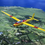 Gliding Over Hana Poster