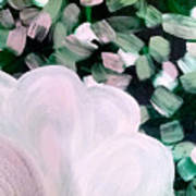 Glimmering Petals Poster