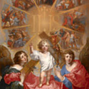 Glorification Of The Name Of Jesus Poster