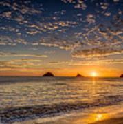 Glorious Playa Sunset Poster