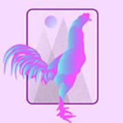 Glow Chicken Poster