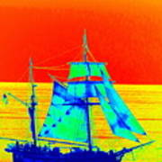 Glow Ship 6 Photograph Poster