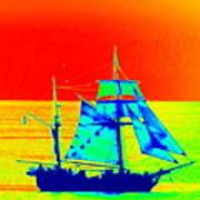 Glow Ship 7 Photograph Poster