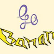 Go Banana Poster