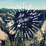 Go Forth Poster