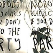 Go To The Party Poster