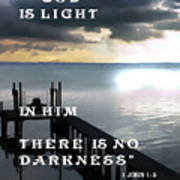 God Is Light Poster