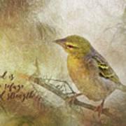 God Is My Refuge Poster