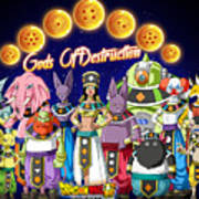 God Of Destruction Poster