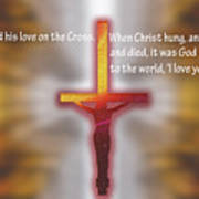 God Proved His Love Poster