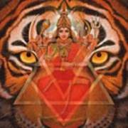 Goddess Durga Poster by Sue Halstenberg