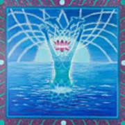 Goddess Emerging Poster