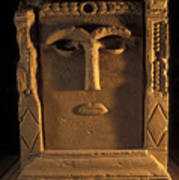 Goddess Hayyan Idol From The Temple Poster