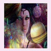 Goddess Of Planets Poster