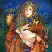 Goddess Ostara Poster