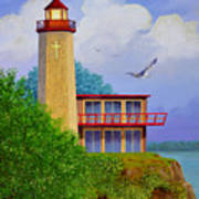 God's Lampstand  THE DINKEL ISLAND SERIES Poster
