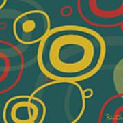 Gogo - Retro-modern Abstract Poster