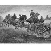 Going Into Battle - Civil War Poster