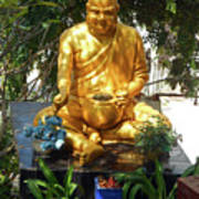 Gold Buddha 4 Poster