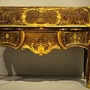 Gold Desk Poster