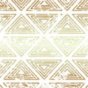 Gold Tribal Poster