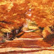 Golden Autumn Poster